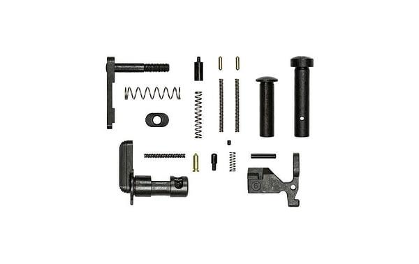 Aero Precision Lower Parts Kit minus FCG, grip, trigger guard